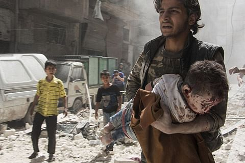 Children increasingly used as weapons of war: Unicef