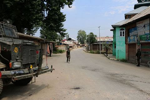 Forces lay siege to Zakir Musa's village in south Kashmir