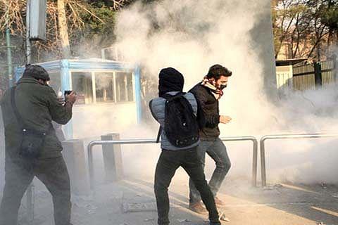 2 protesters killed in Iran