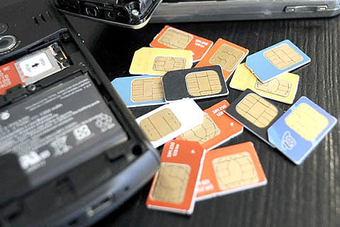 SIM cards on fake stamps – module busted: Police