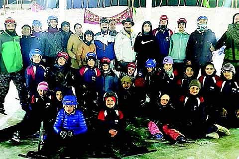 Ice skating, Rollball camp concludes