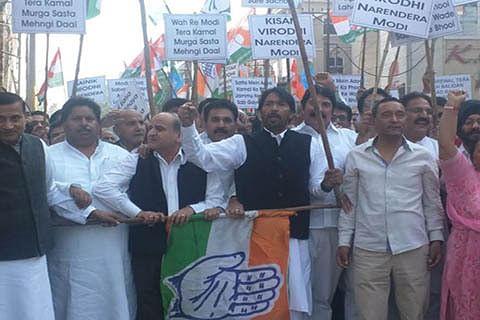 Congress delegation visits parents of rape victim