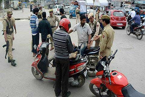 ALERT SOUNDED IN SRINAGAR: Vehicle without number plate crosses Humhama check point: police