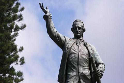Captain Cook statue vandalized in Australia