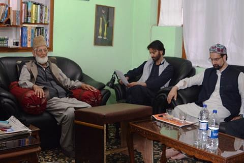 JRL calls for peaceful protests tomorrow against 'killing spree' in Kashmir
