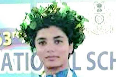 DPS student wins silver medal at 63rd National school games