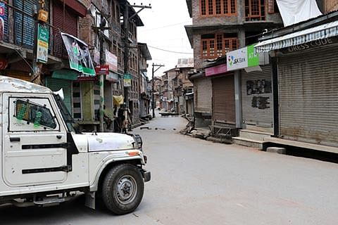 Pulwama shuts for 4th consecutive day