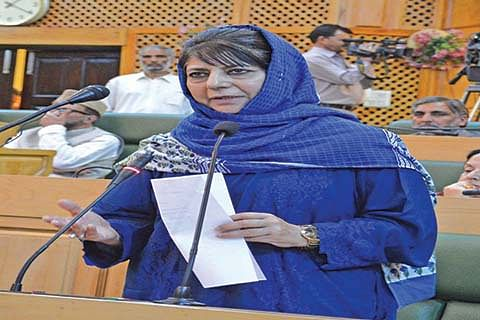 No proposal to probe killings of civilians in 2016 agitation: Mehbooba