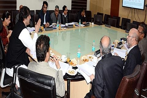 Sajad Lone chairs BoDs meeting of SC ST & BC Development Corporation