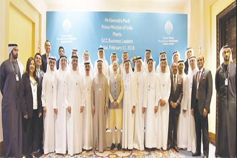 PM Modi briefs GCC corporates on ease of doing business in India