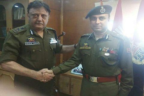 Swayam Prakash Pani takes over as IGP Kashmir