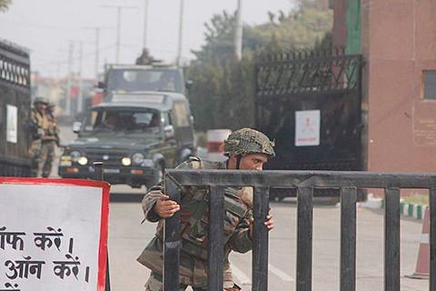 Lone militant still holed up in Sunjuwan military camp: Army