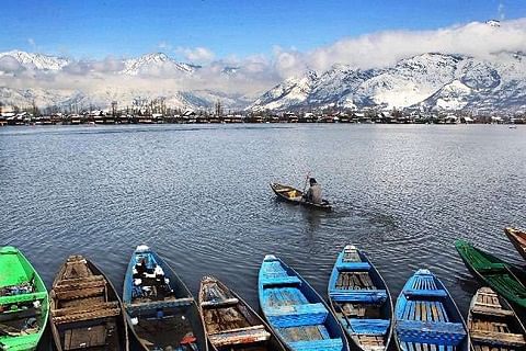 Respite from bone chilling cold in Kashmir