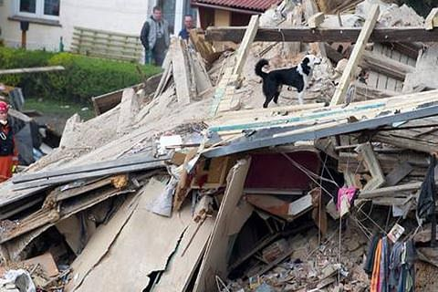 Woman killed after portion of house collapses in Jammu