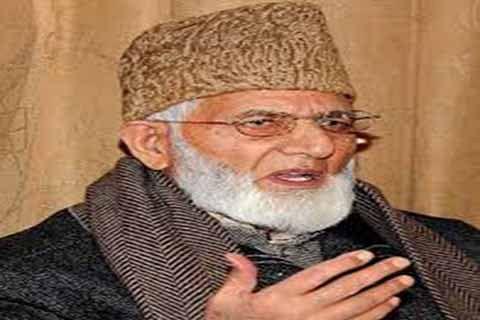 Geelani concerned over 'crackdown' on youth in Kashmir