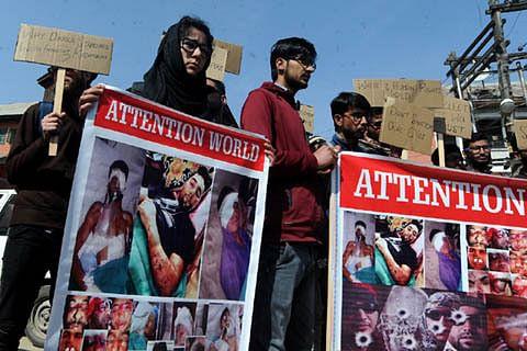 Kashmir pellet victims seek societal help to end their plight, say only a dozen-odd given govt jobs