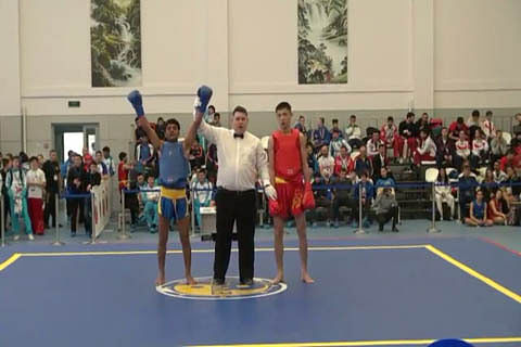 Army school student bags silver in Wushu at international event