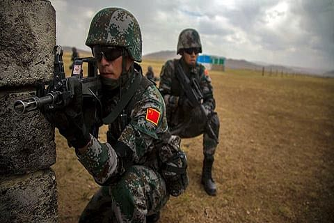 """""""PLA equips ground unit along Indian border with US army-style combat gear"""""""