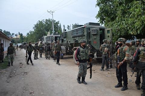 Forces launch search operation in Shopian village