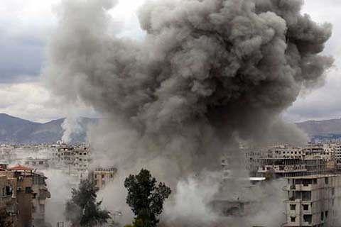 Air strikes on Syria's Ghouta kill 30 civilians