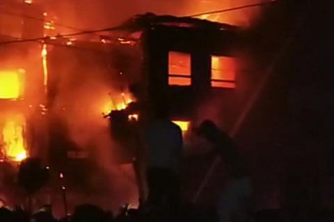 15 houses gutted in Baramulla
