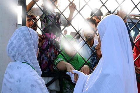 Sea Haj Pilgrims in Bombay