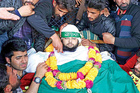Unending mourning in south Kashmir