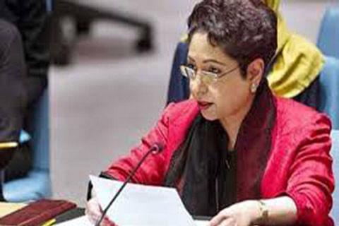 Pakistan's mission is to be voice of Kashmiris at UN: Maleeha Lodhi