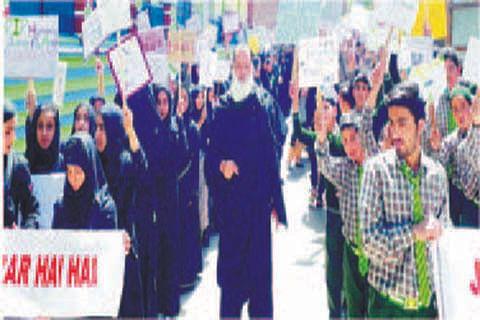 Kishtwar students demand strict punishment for culprits