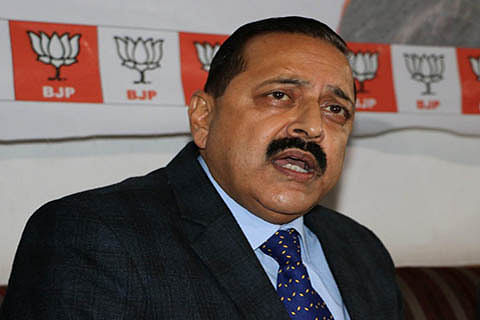"""Jitendra Singh hails government forces"""" role in combating Kashmir militancy"""