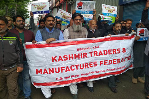 Police foil traders' protest march to secretariat against civilian killings