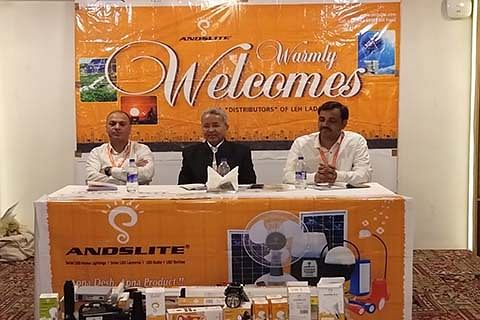 Andslite launches LED bulbs in Kashmir