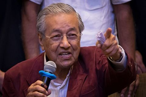 Malaysia's Mahathir says remarks on French attacks taken out of context