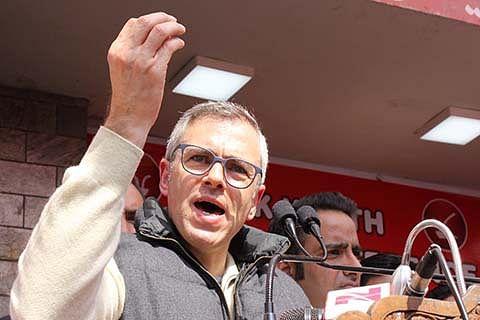 Omar targets BJP over construction by Speaker's family