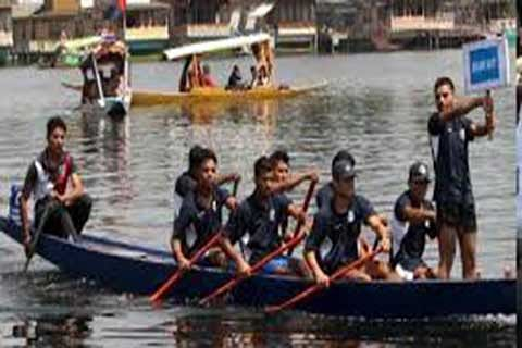 Maiden water sports camp concludes in Srinagar