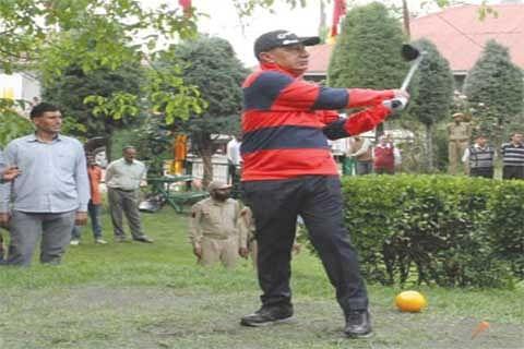 DGP throws open Police Golf Course
