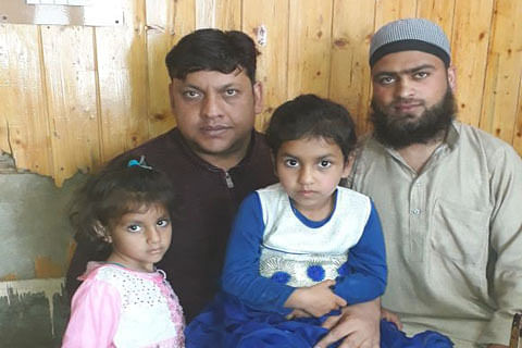 Minor sisters reunited with family: Jammu and Kashmir Police