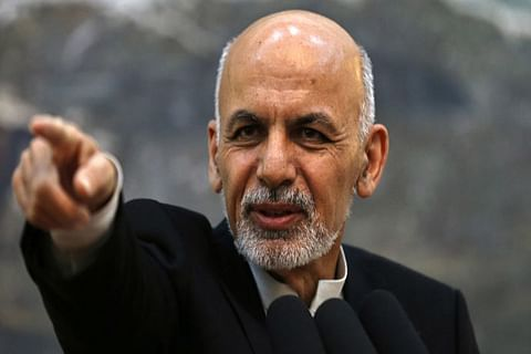 Afghan president flees the country as Taliban move on Kabul