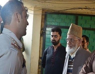 Geelani barred from offering Eid prayers: Spokesman