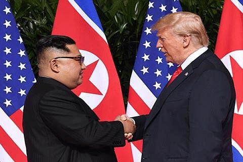 Kim-Trump: The twain finally met