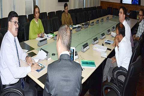 Advisor Vijay Kumar reviews progress in JK's tourism sector