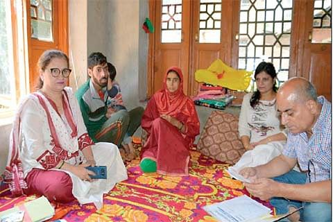 Moved by plight of a young woman ill with cancer, a Kashmiri Pandit comes as a saviour