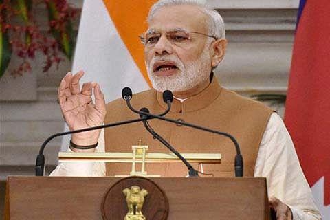 PM Modi attacks Congress for imposing Emergency in 1975