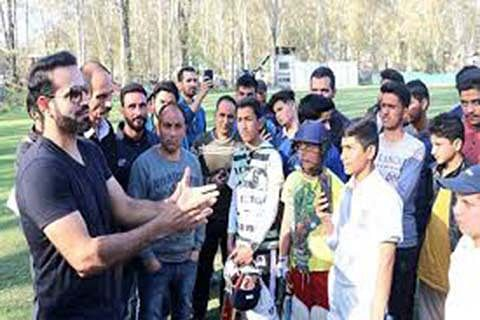 Irfan Pathan set to mentor talent in J&K