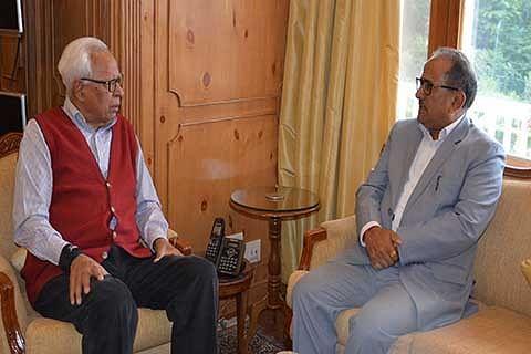 Speaker LA, Chairman LC meet Governor