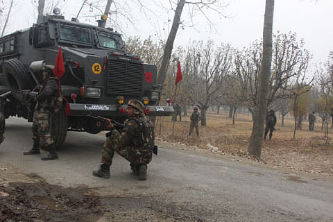 Clash erupt after forces launch search operation in Hajin