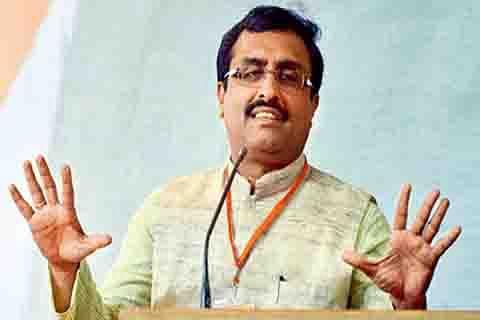 BJP not into govt formation: Madhav