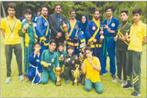 GVEI students win awards at martial art competition