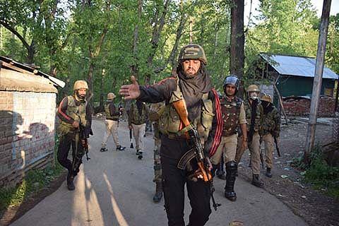 Clashes during CASO in Hajin