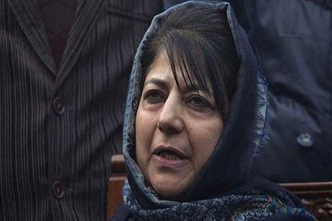 Mehbooba Mufti grieved over demise of Altaf Bukhari's mother